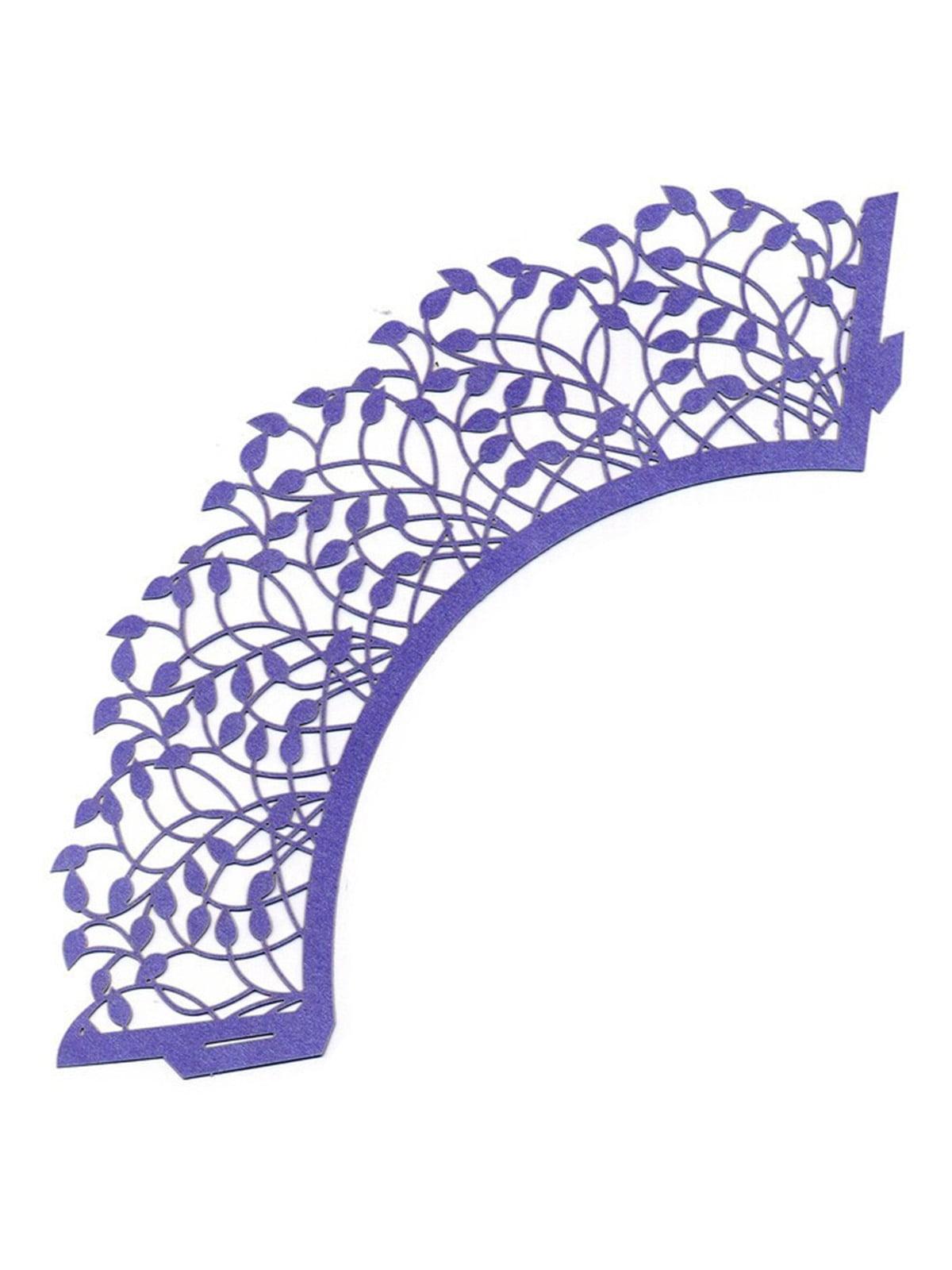 Накладка паперова декоративна ажурна для мафінів (20 шт.)   4458411