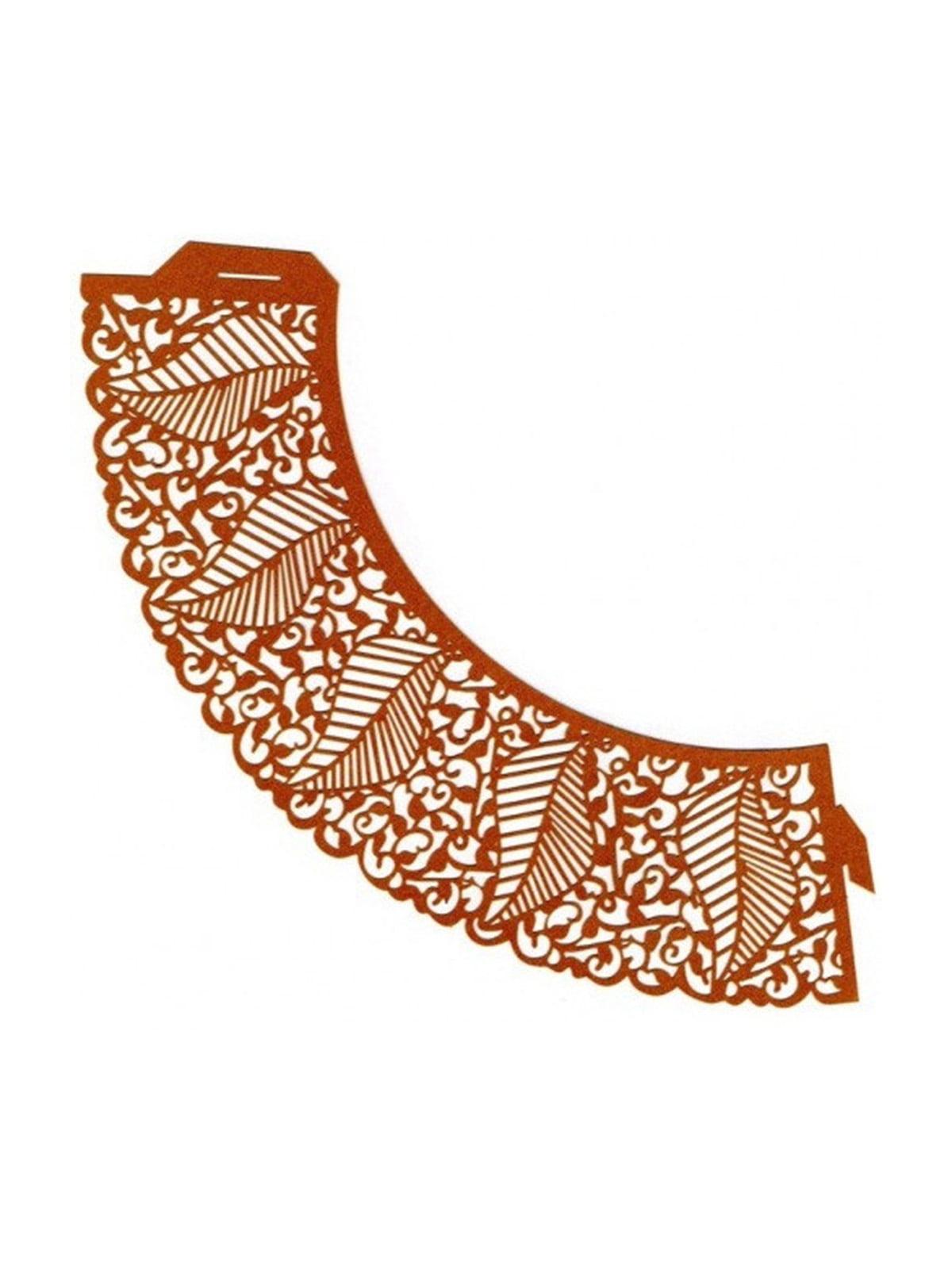Накладка паперова декоративна ажурна для мафінів (20 шт.) | 4458426