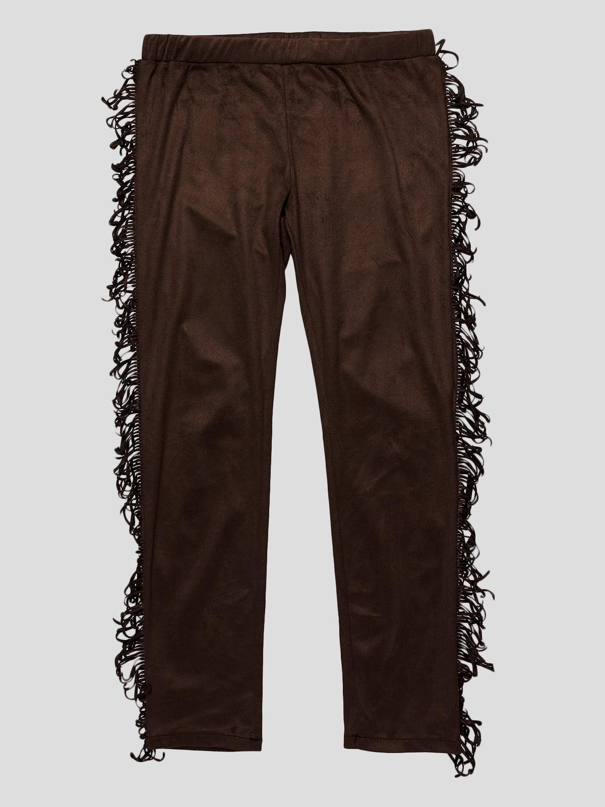 Штани коричневі | 4402990