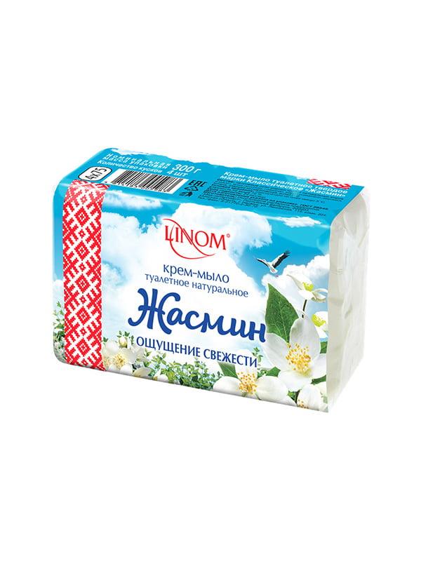 Крем-мыло туалетное «Жасмин» - экопак (300 г) | 4459067
