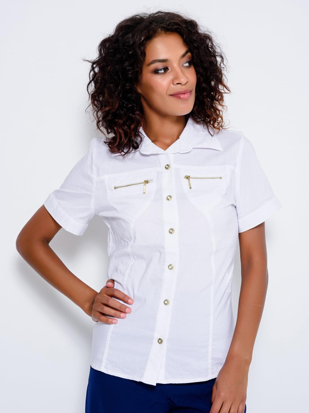 Рубашка белая | 4459479