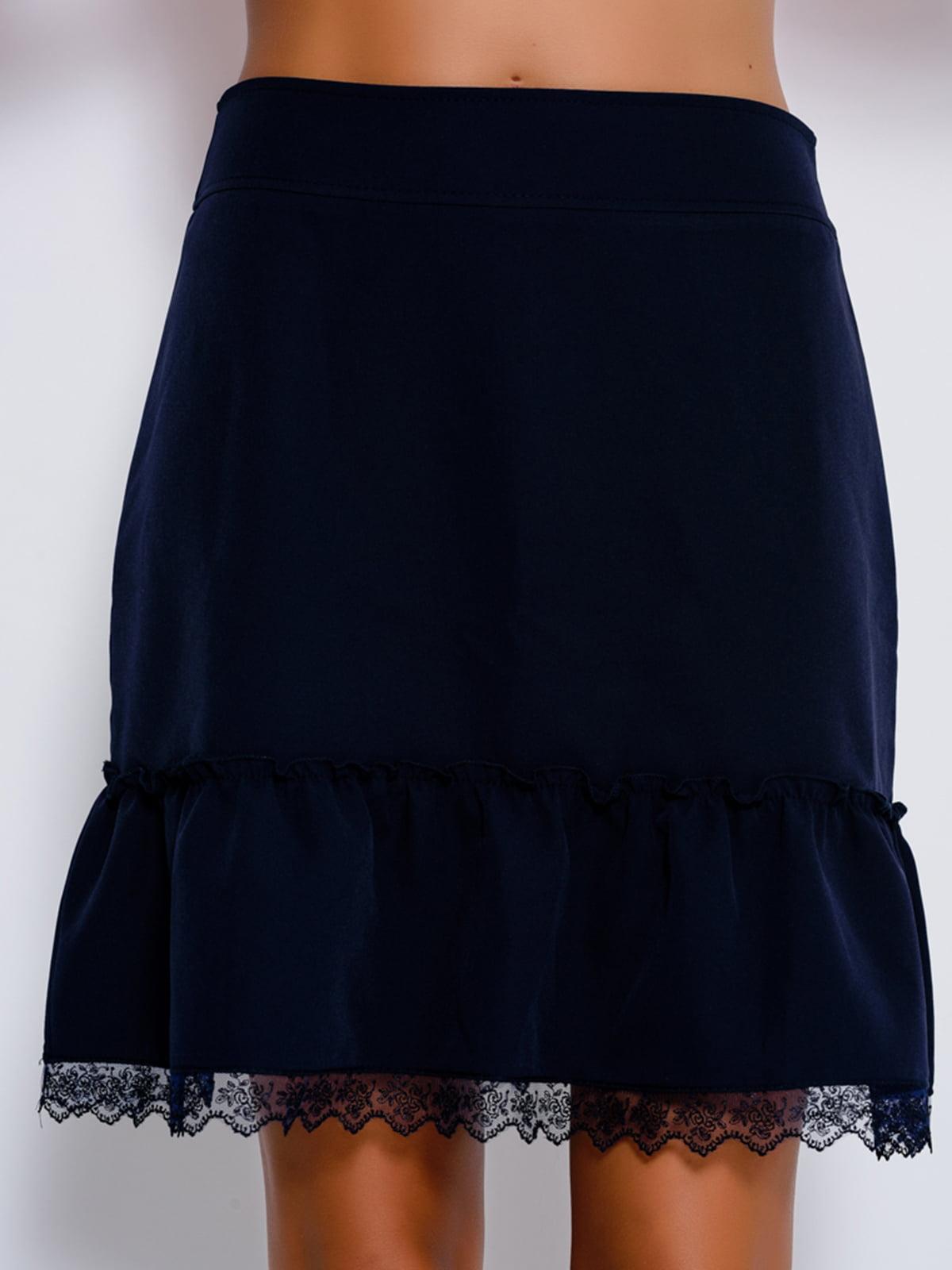 Юбка темно-синяя   4459512