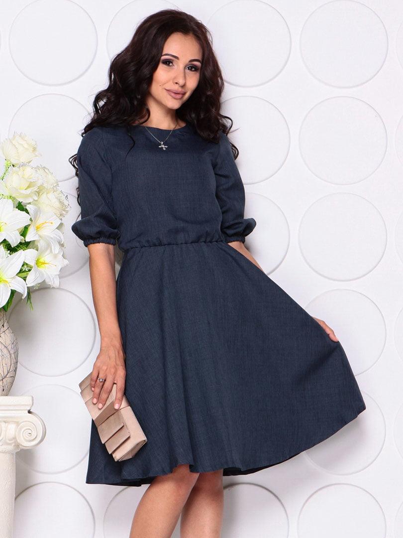 Сукня темно-синя   4450170