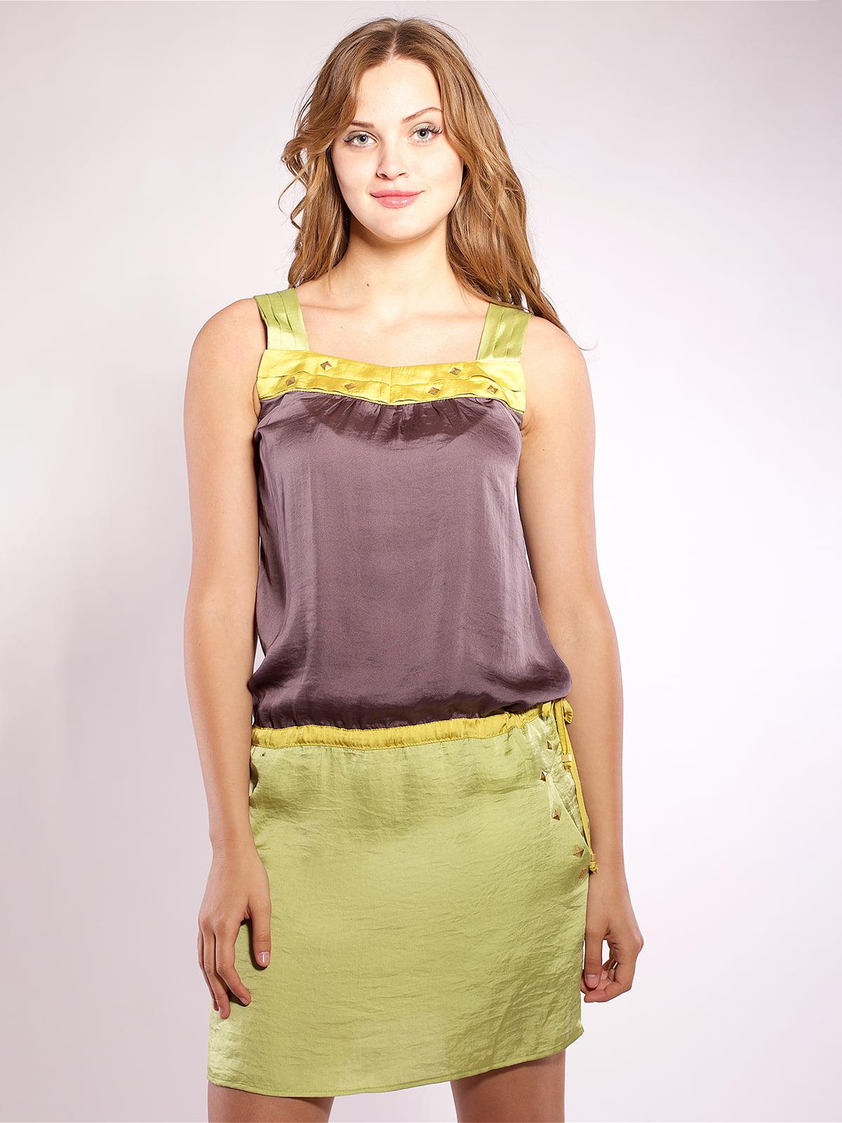 Платье двухцветное | 4202670 | фото 2