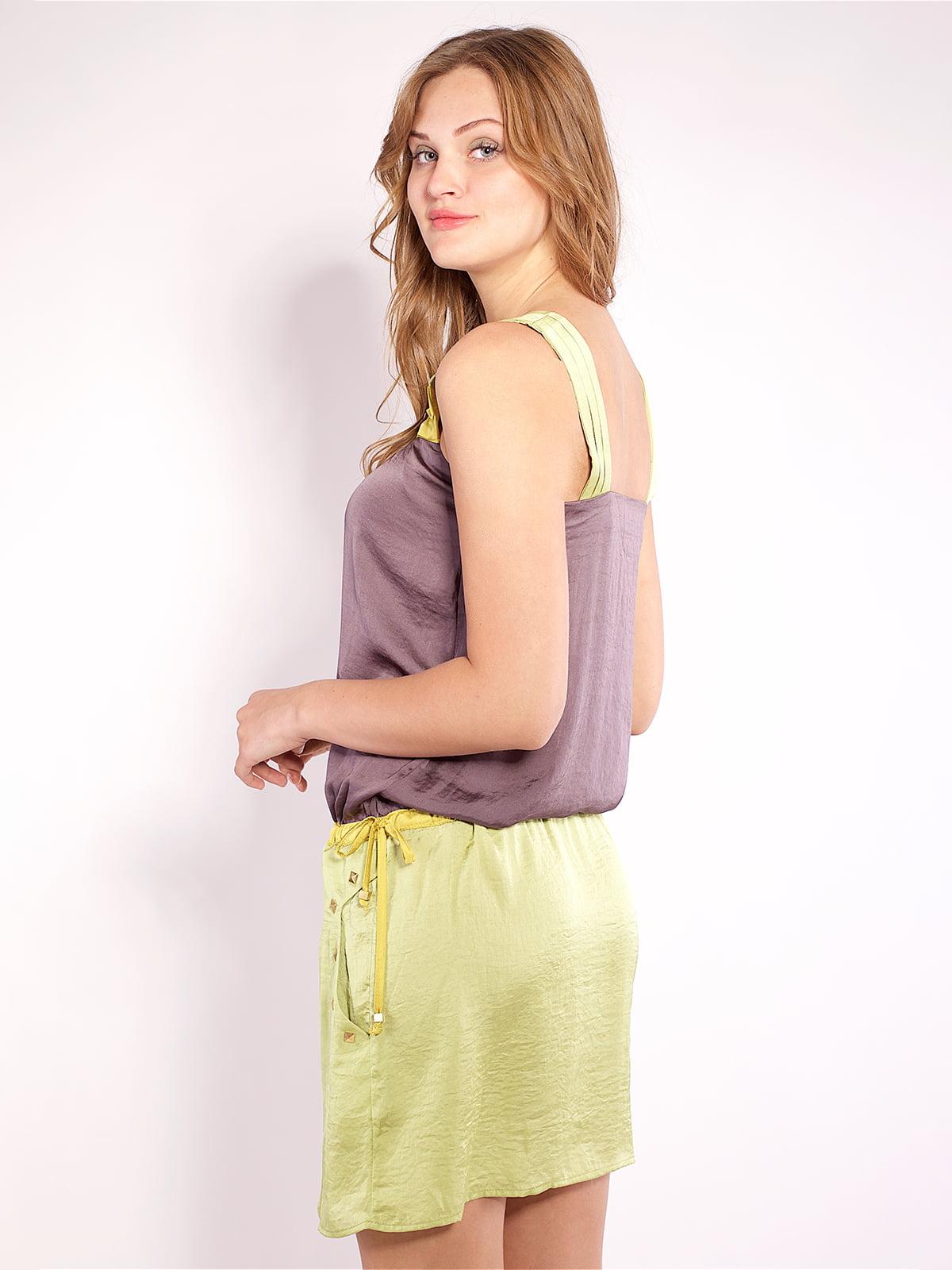 Платье двухцветное | 4202670 | фото 3