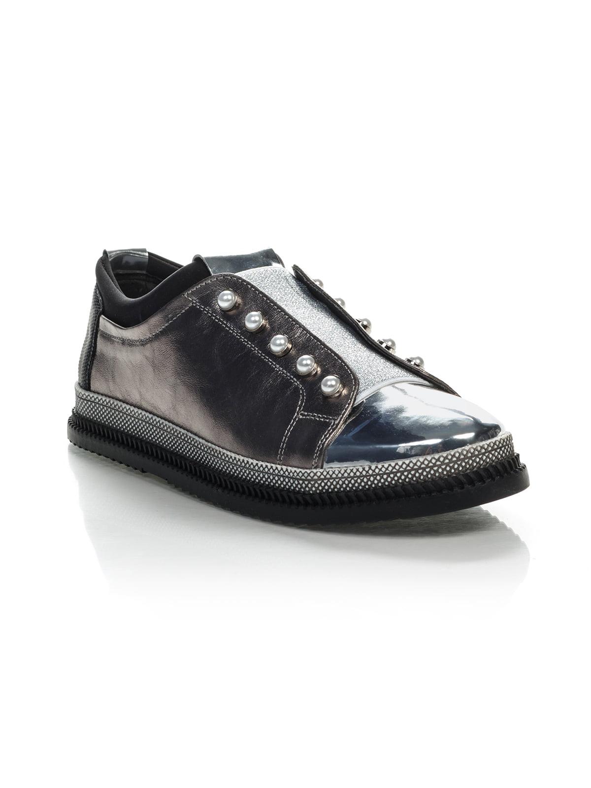 Туфлі двоколірні | 4058233
