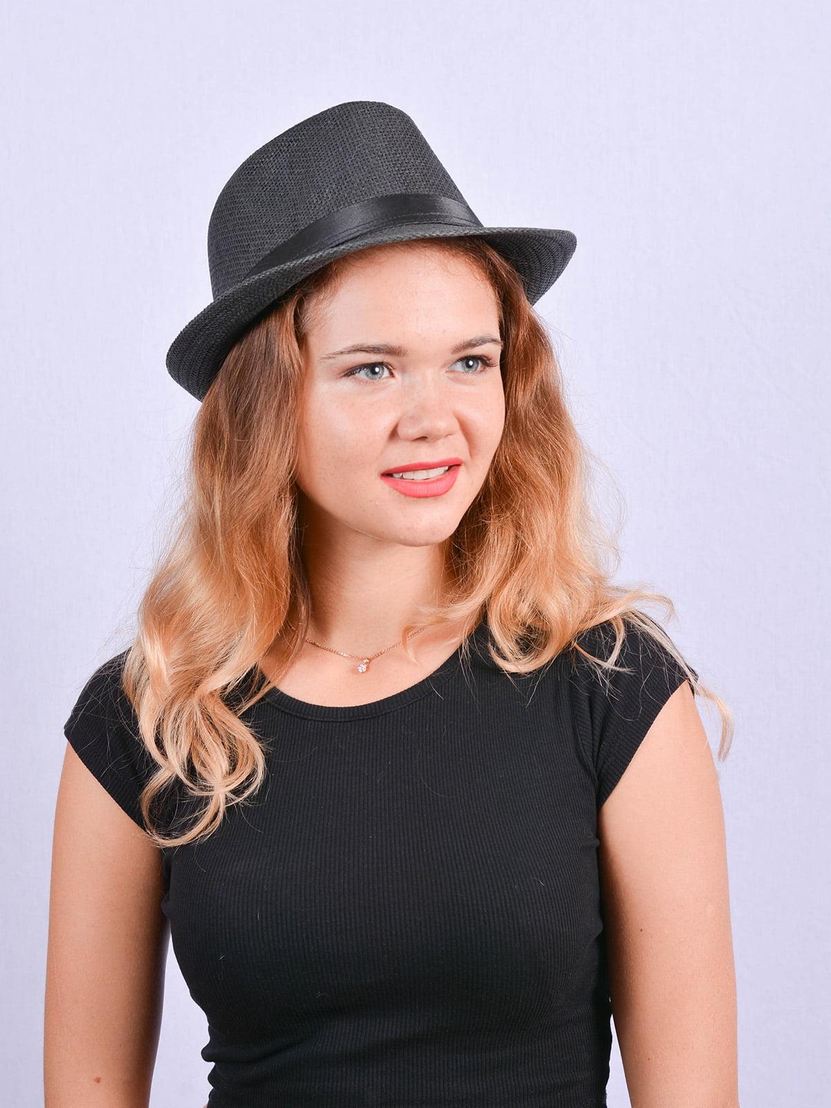Шляпа черная | 4460733 | фото 2