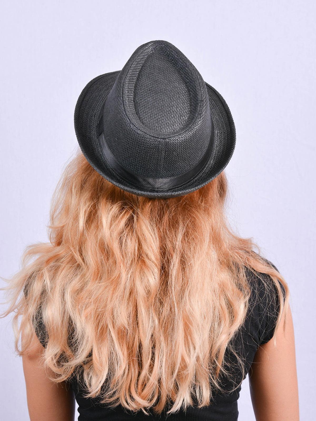 Шляпа черная | 4460733 | фото 3