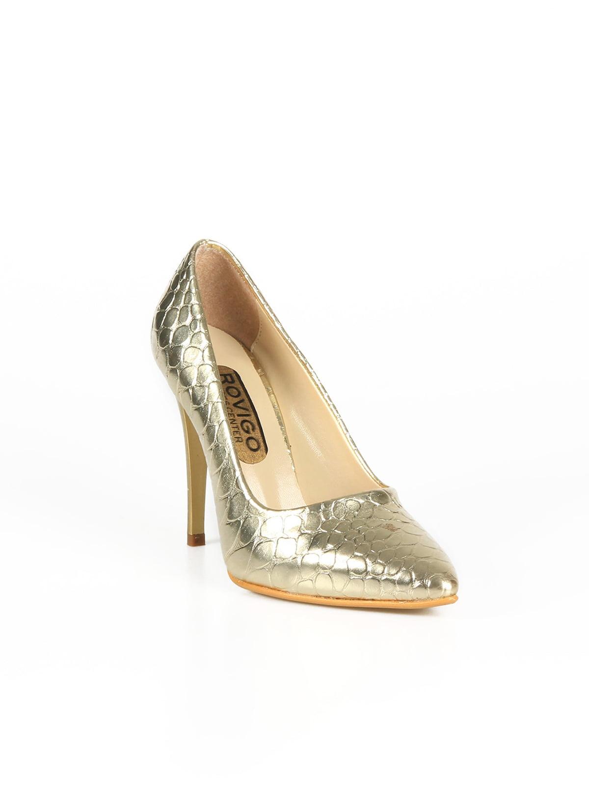 Туфлі золотистого кольору   4461289