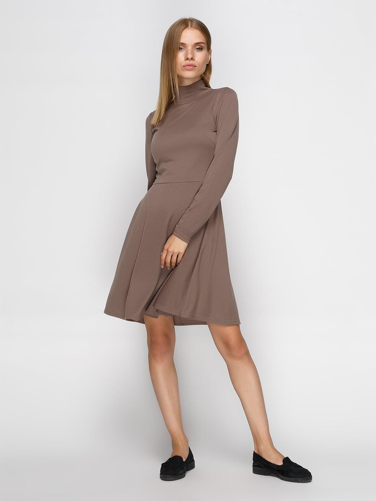Платье кофейного цвета   4460418
