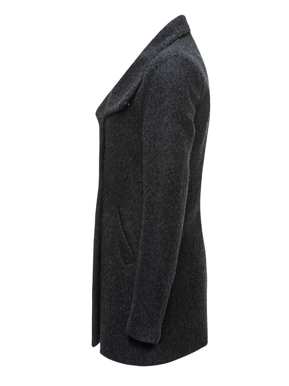 Пальто темно-синее | 2827817 | фото 5