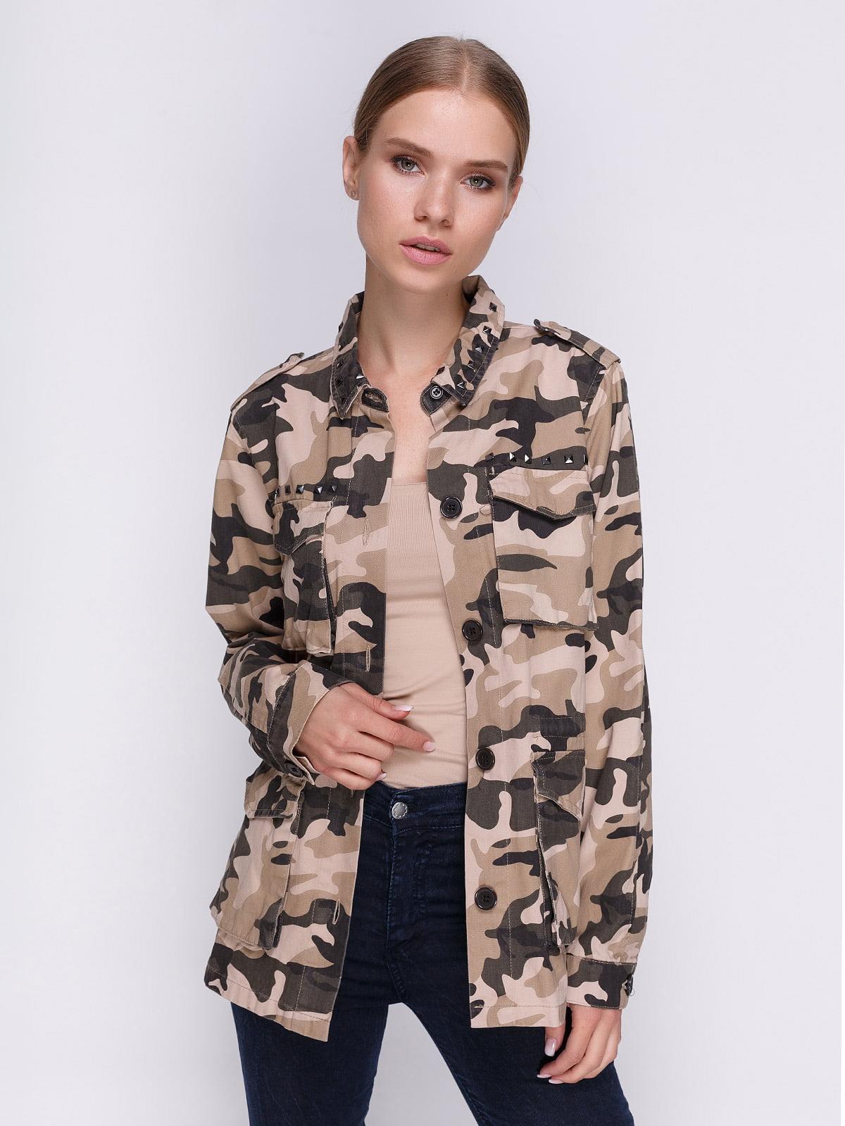Куртка камуфляжного забарвлення | 3967002