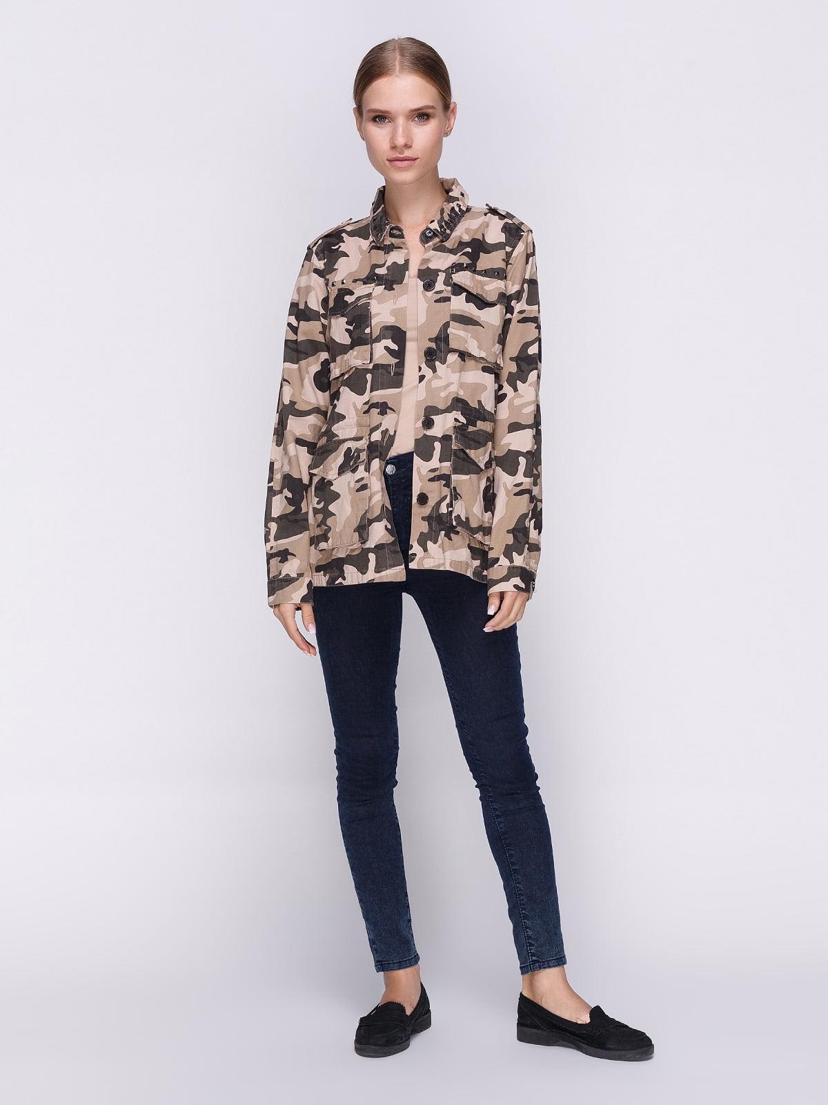 Куртка камуфляжного забарвлення | 3967002 | фото 2