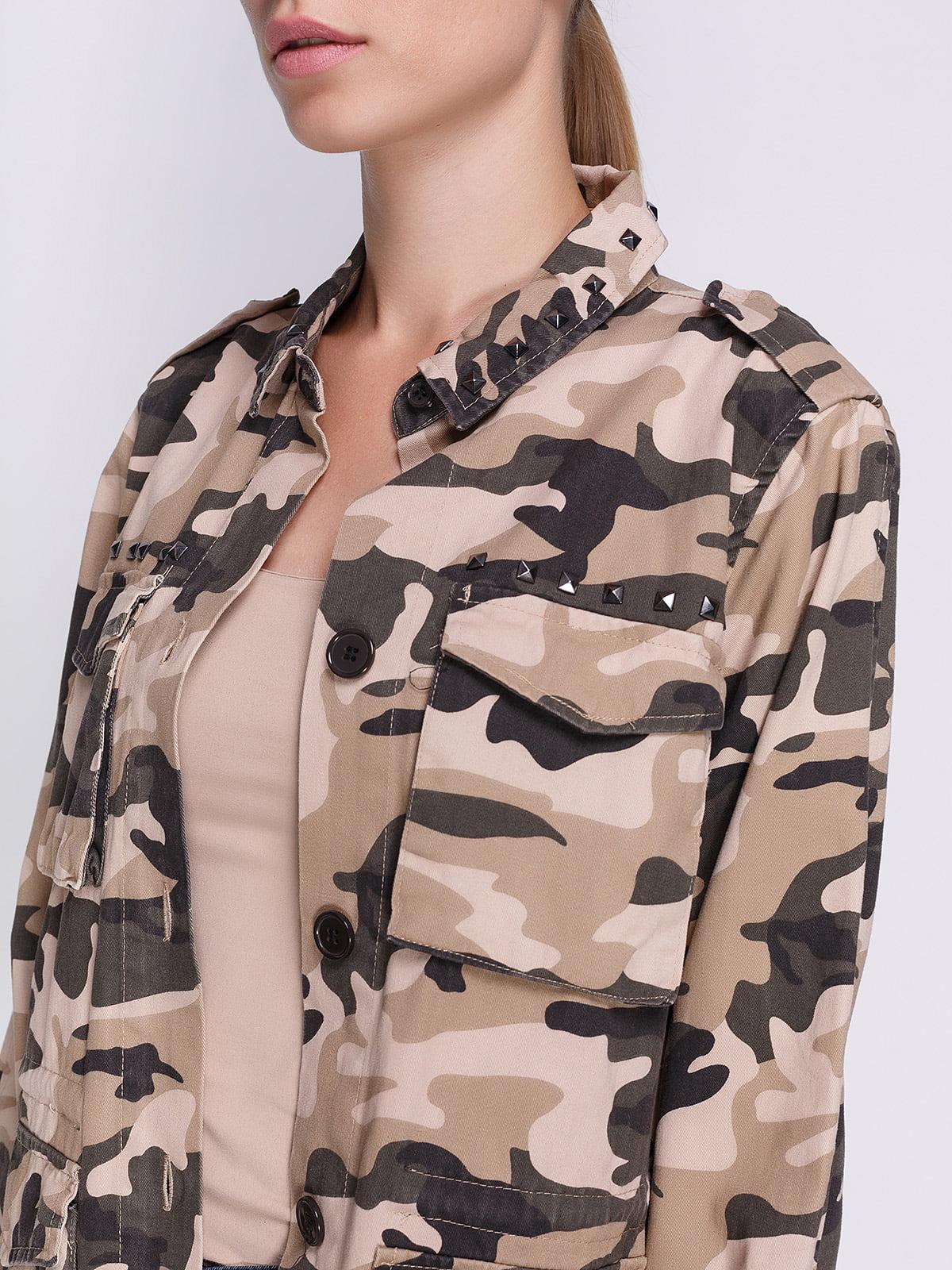 Куртка камуфляжного забарвлення | 3967002 | фото 4