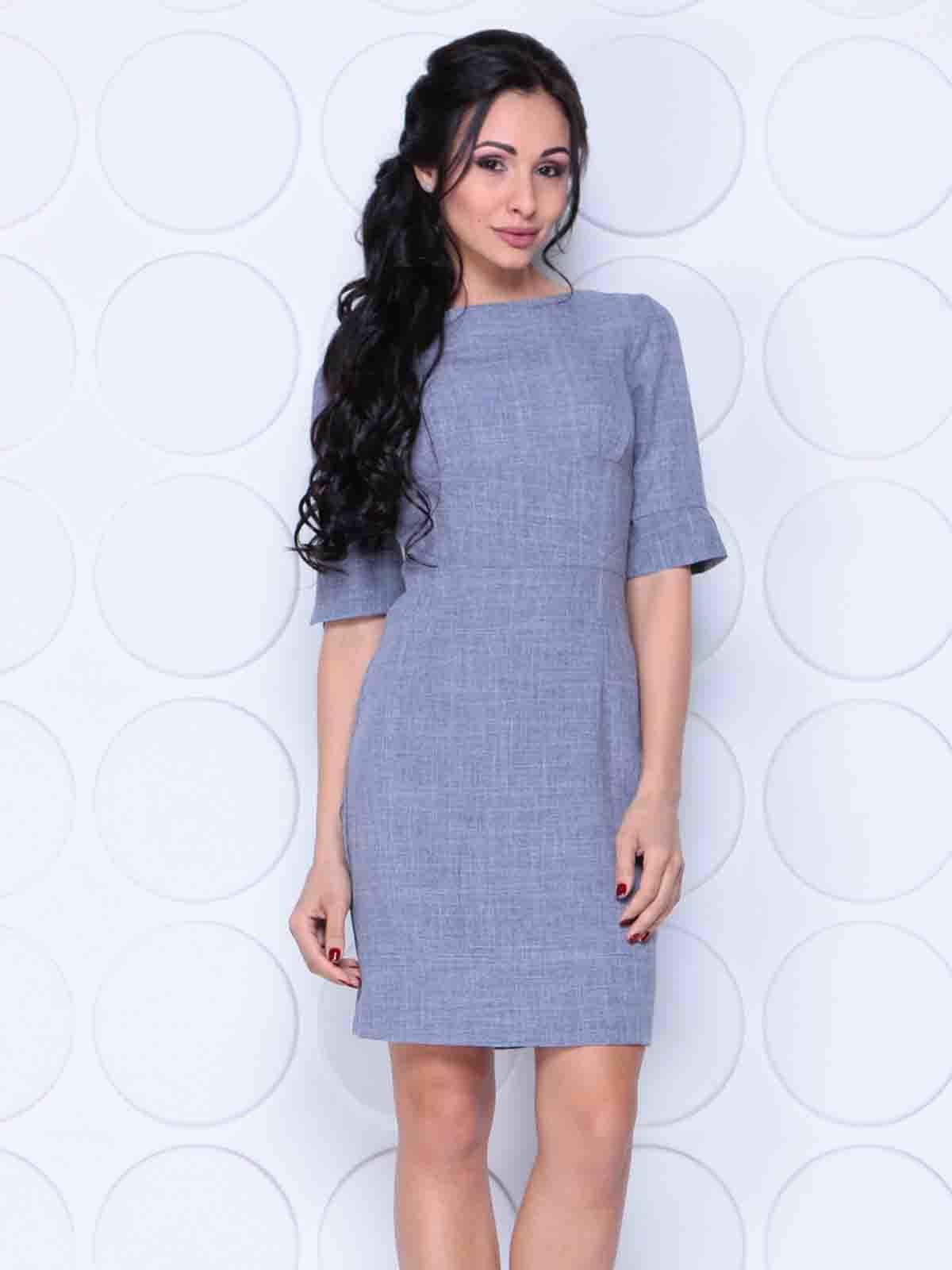 Платье цвета фиолетовой дымки   4414371