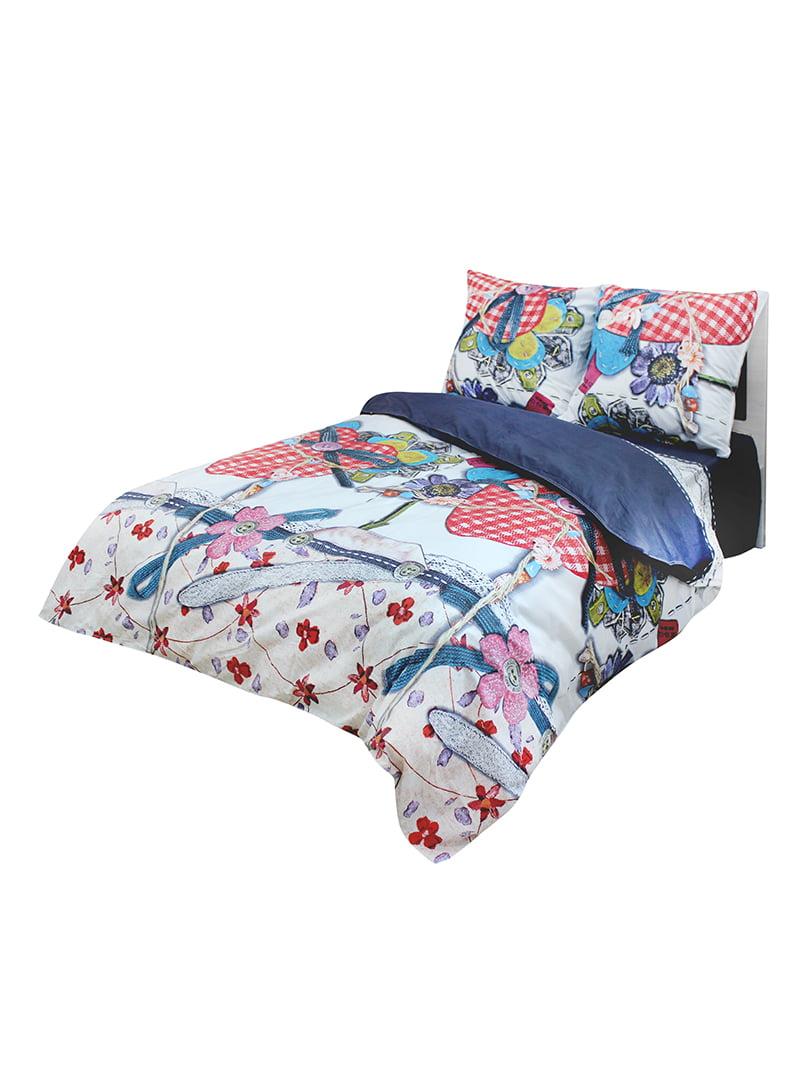 Комплект постільної білизни двоспальний | 4465764