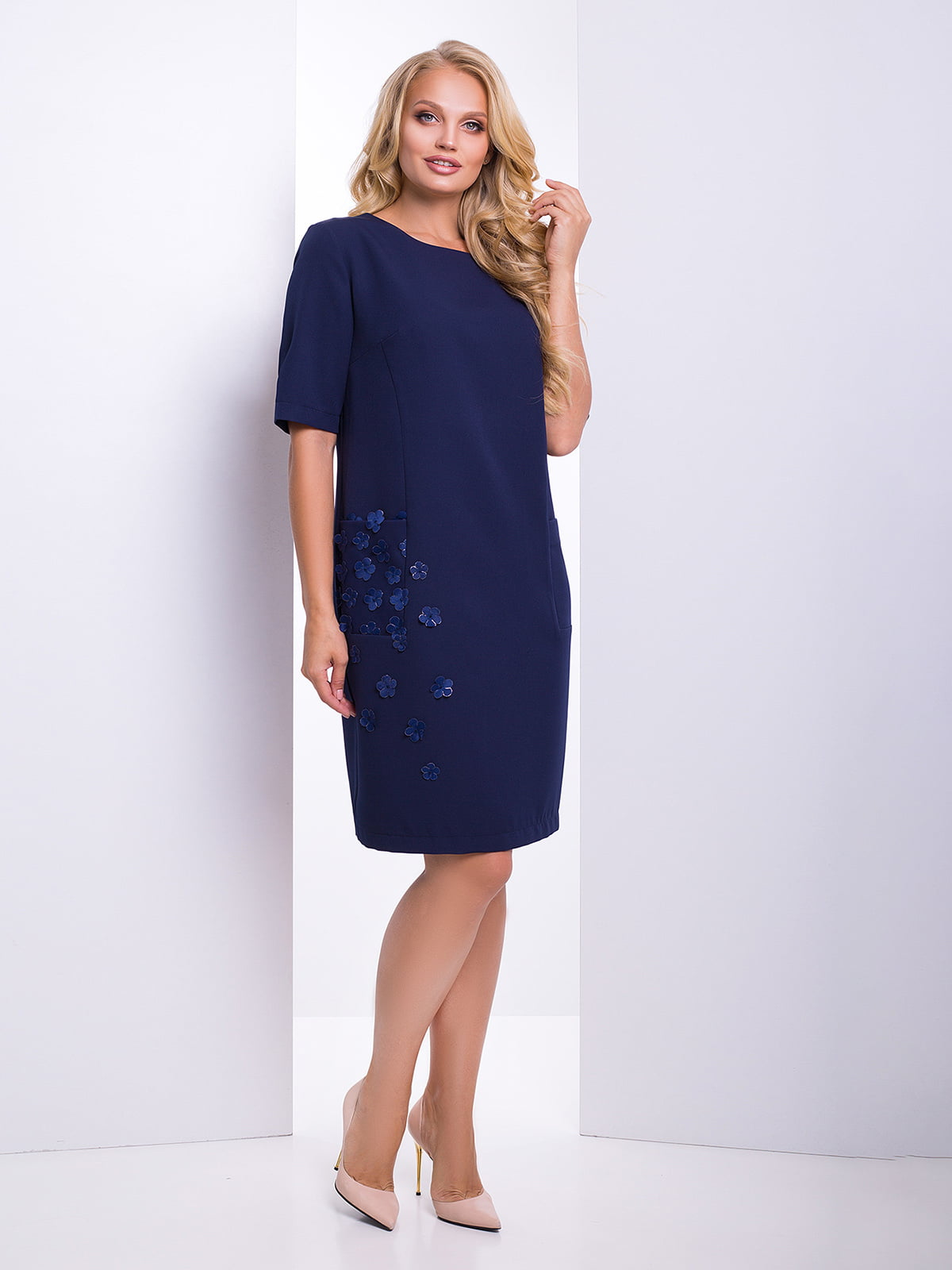 Сукня темно-синя | 4469107