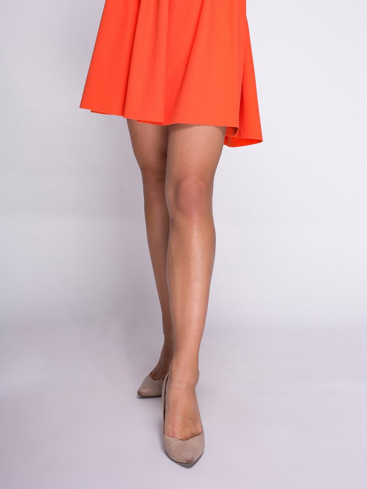 Юбка оранжевая | 3791706