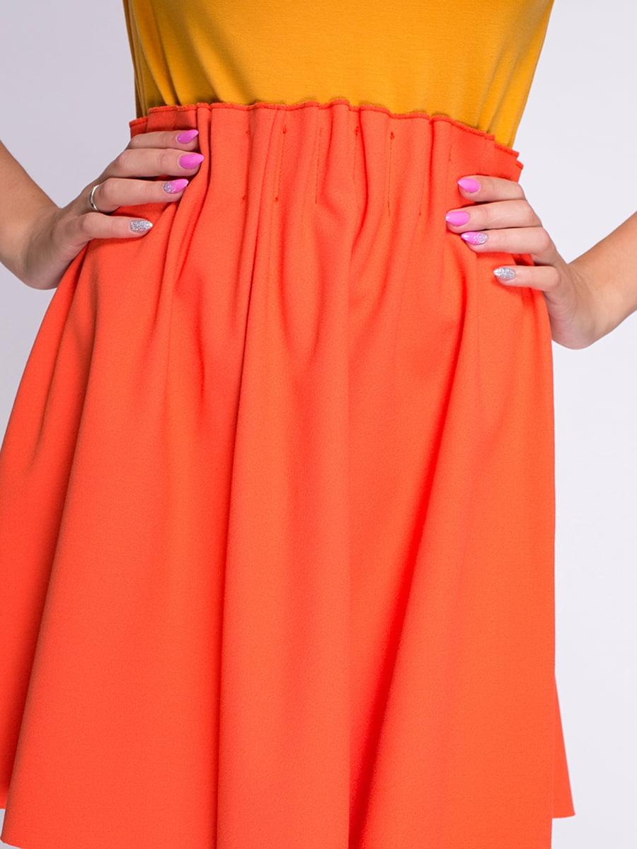 Юбка оранжевая | 3791706 | фото 4