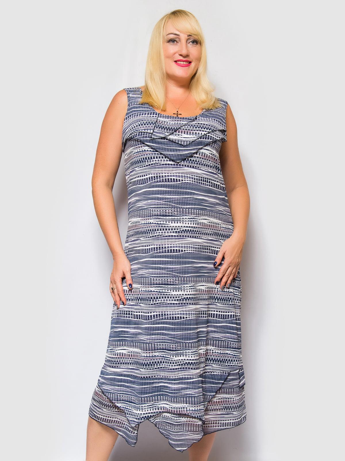 Платье в принт | 4469257 | фото 3