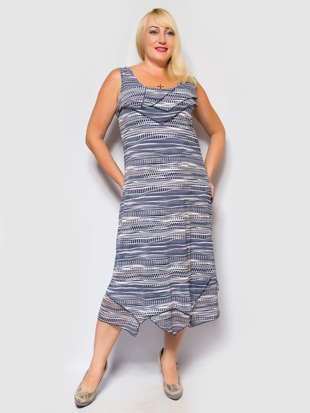 Платье в принт | 4469257 | фото 4