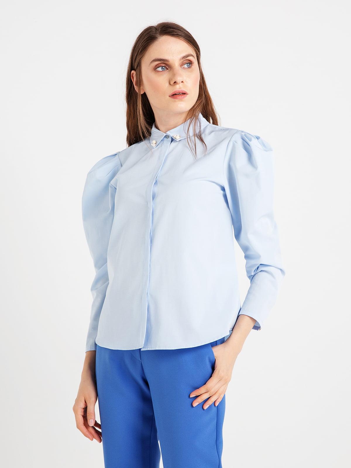 Сорочка блакитна | 4472677