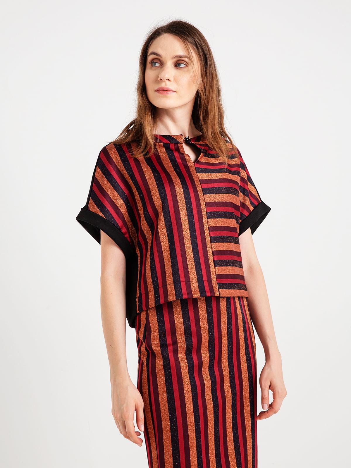 Блуза в смужку | 4472743
