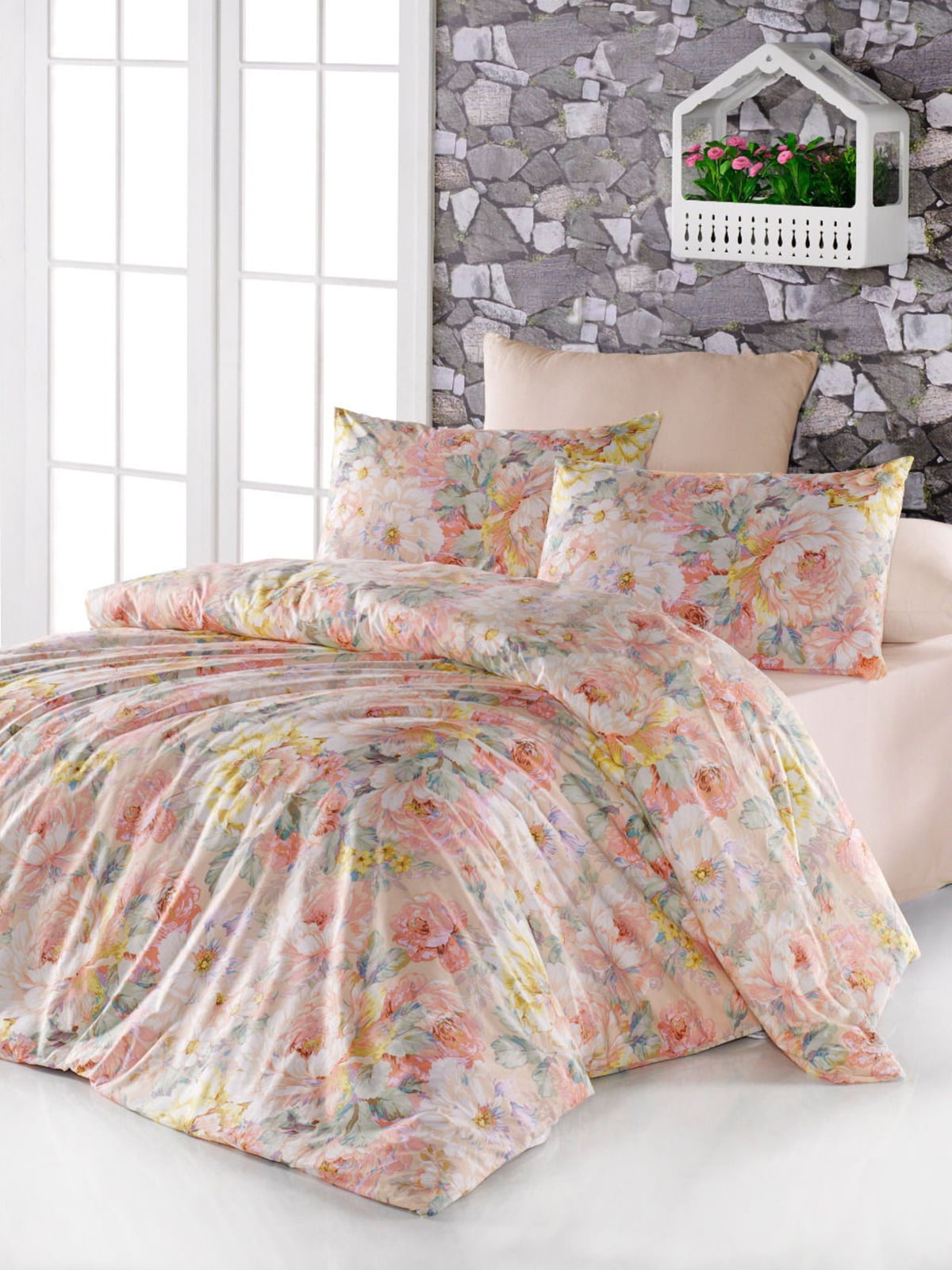 Комплект постельного белья полуторный | 3900080 | фото 2