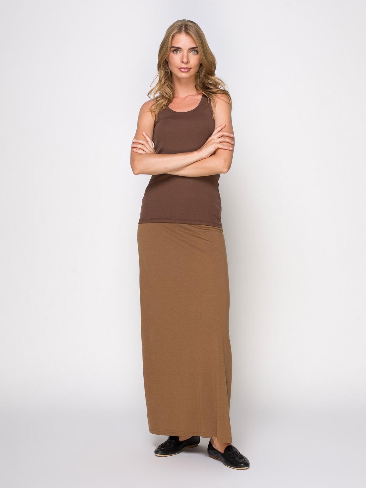 Юбка коричневая | 3783238 | фото 2