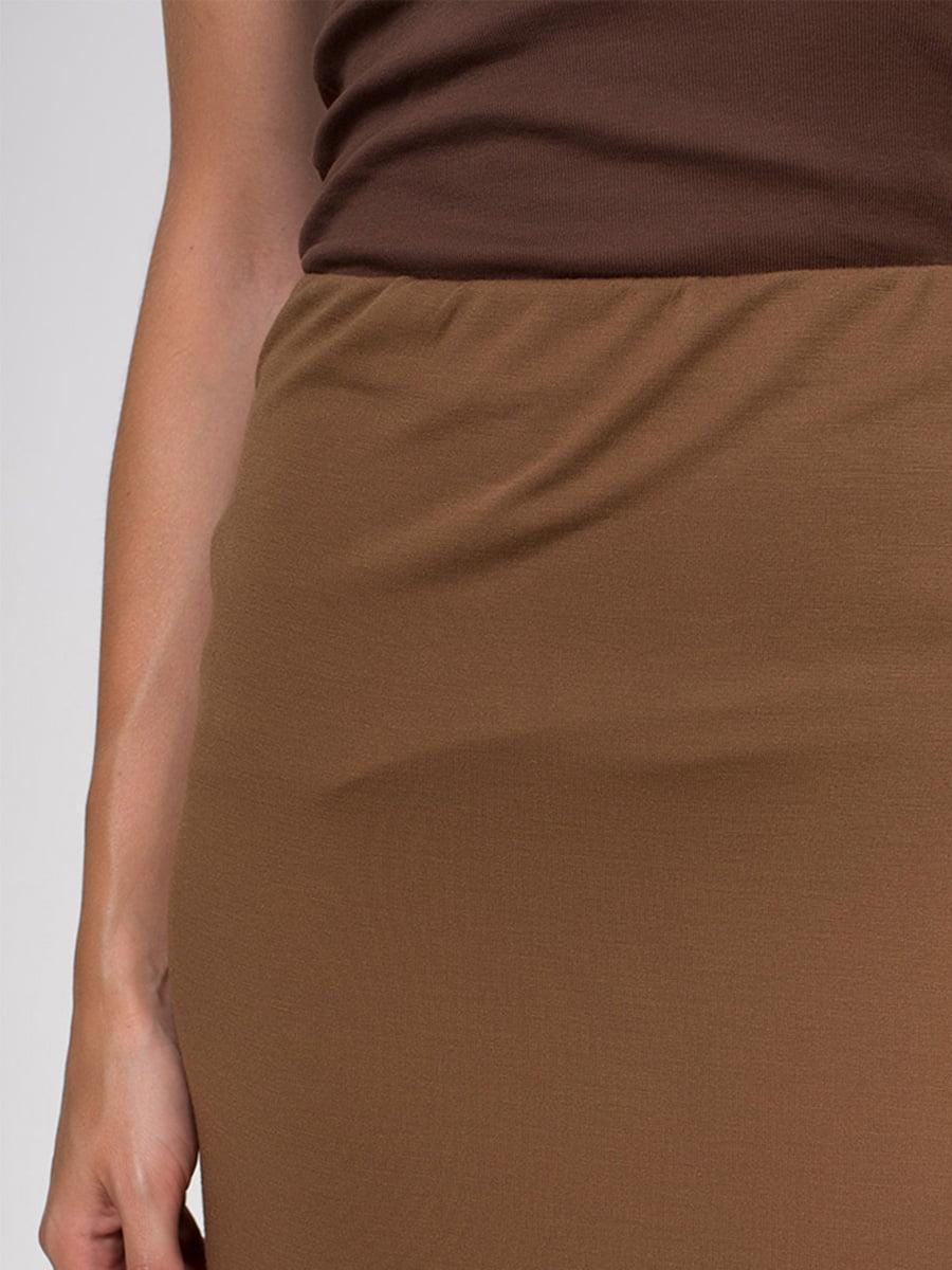 Юбка коричневая | 3783238 | фото 4