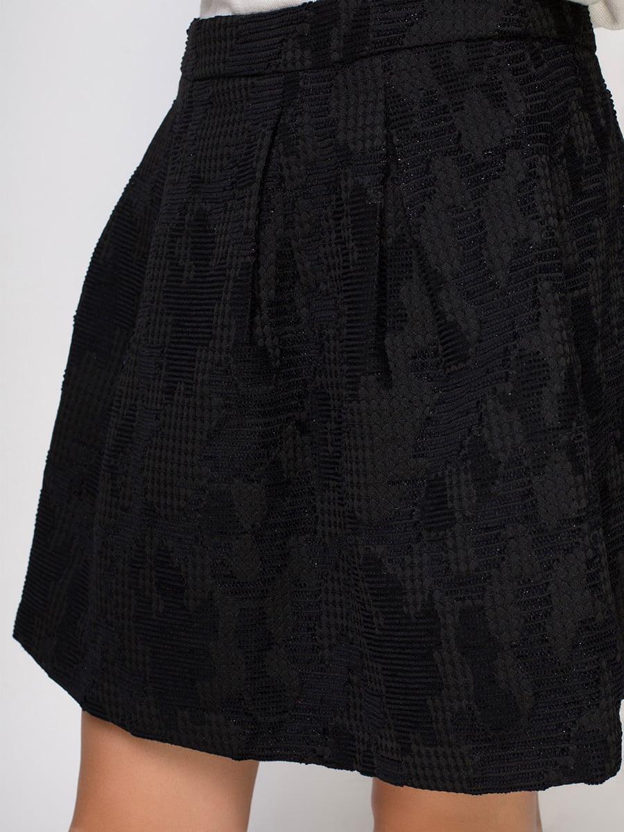 Юбка черная | 3780846 | фото 4