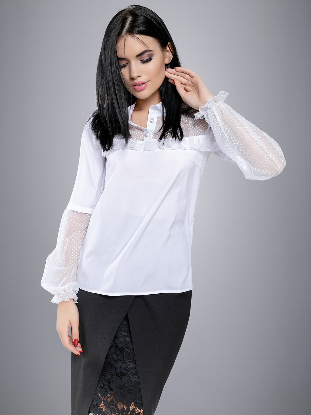 Блуза белая | 4479656