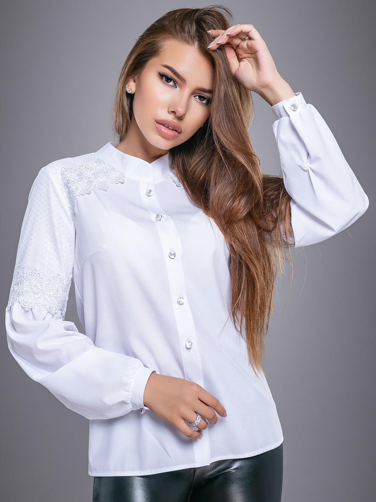 Рубашка белая | 4479661