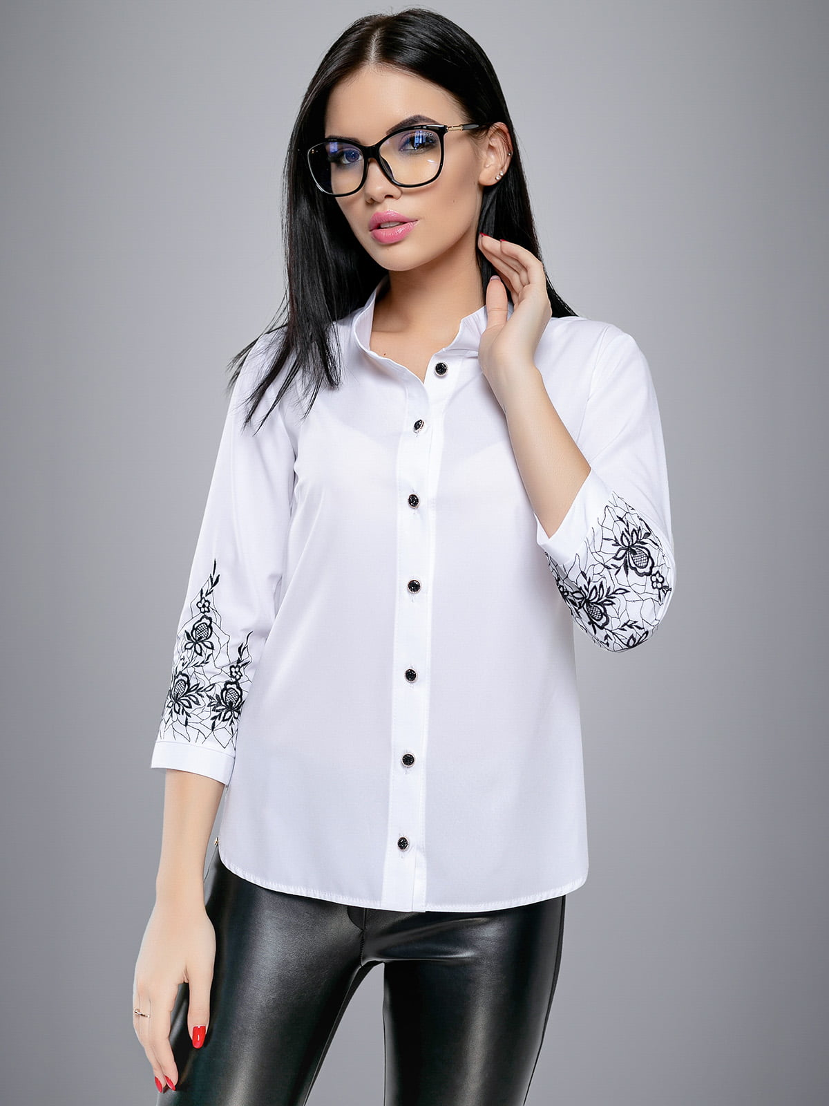 Сорочка біла | 4479671 | фото 2