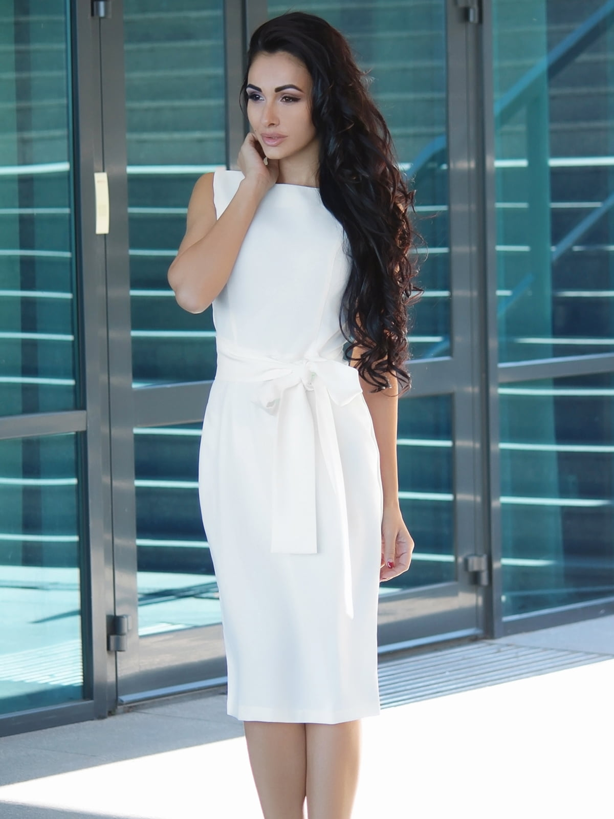 Платье молочное | 3679125
