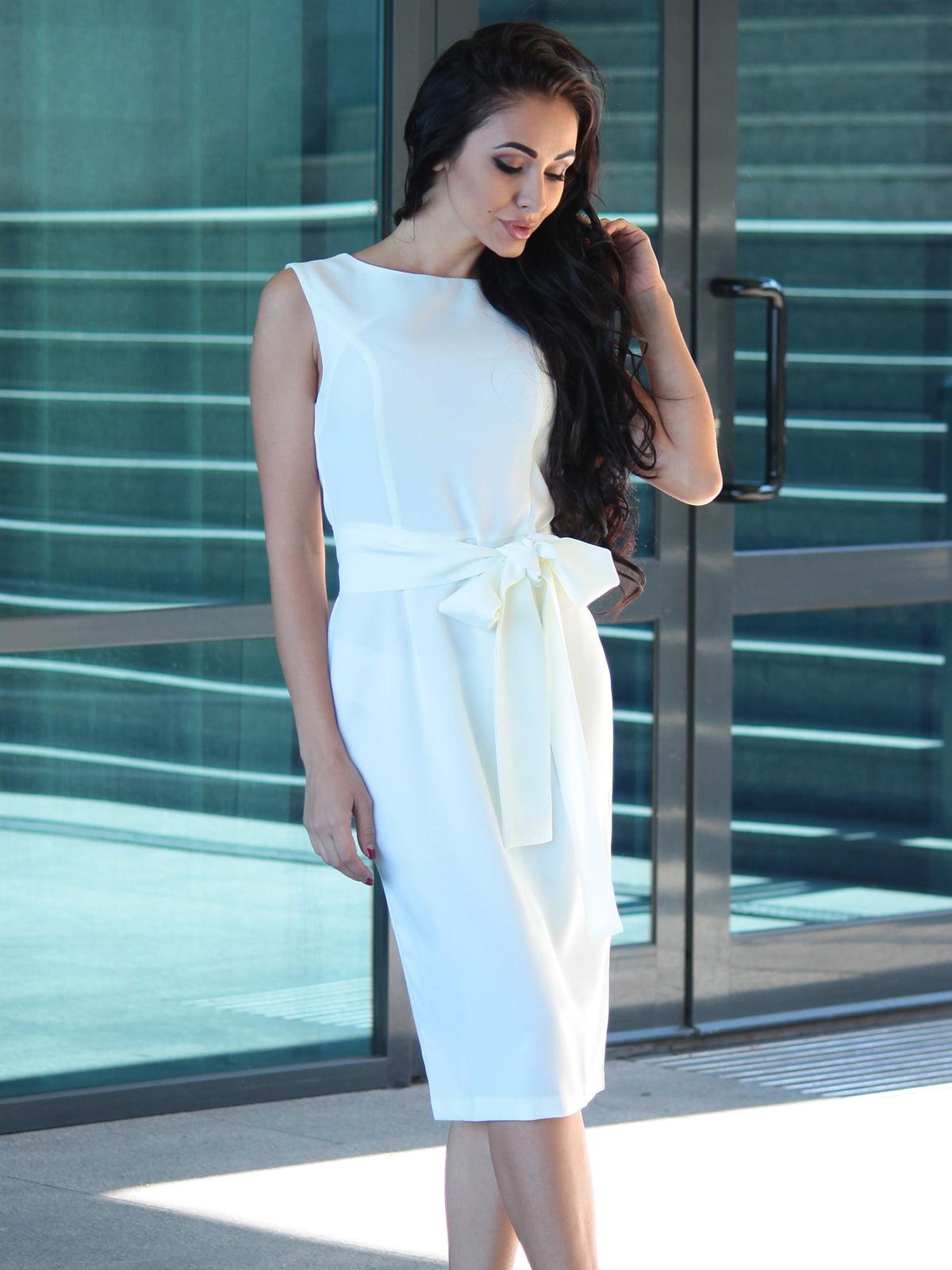Платье молочное | 3679125 | фото 3