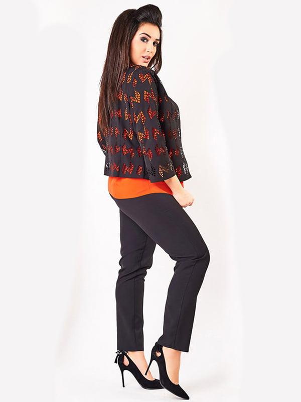Костюм: блуза, жакет и брюки | 4488761