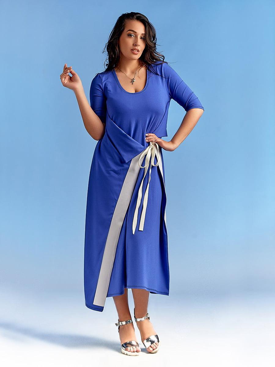 Платье цвета электрик   4488768