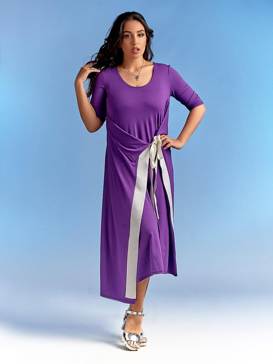 Платье фиолетовое | 4488770