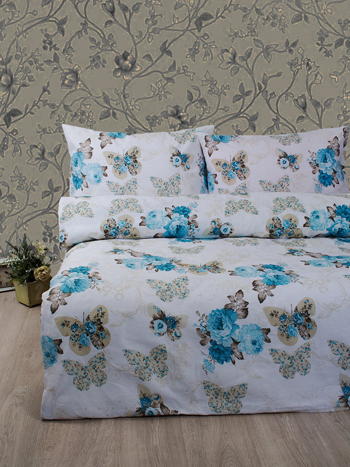 Комплект постельного белья двуспальный (евро) | 4400042