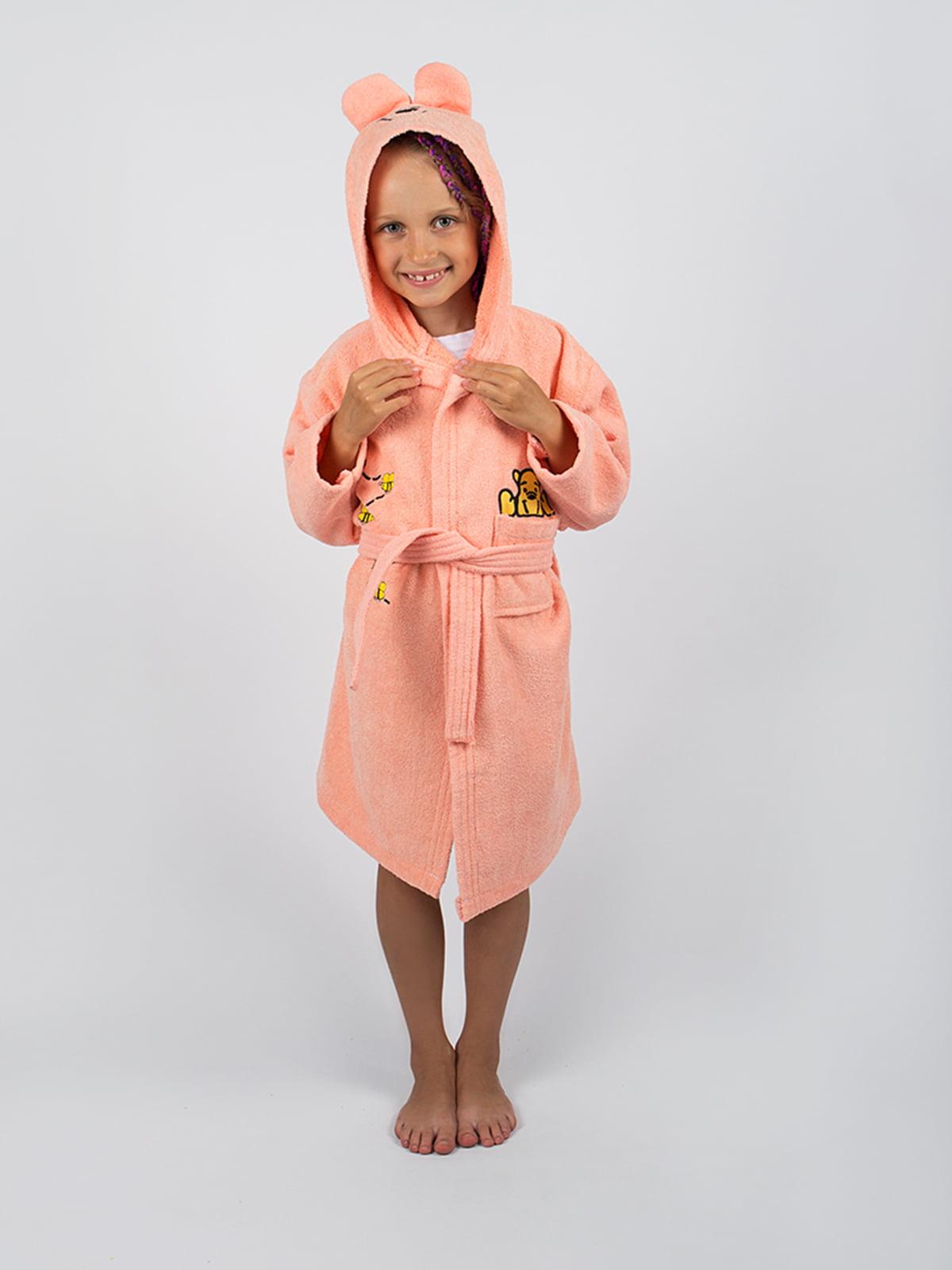Халат персикового цвета | 4454014