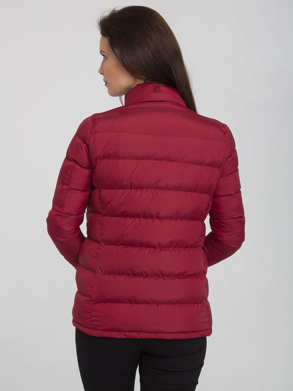 Куртка бордовая | 4488858 | фото 2