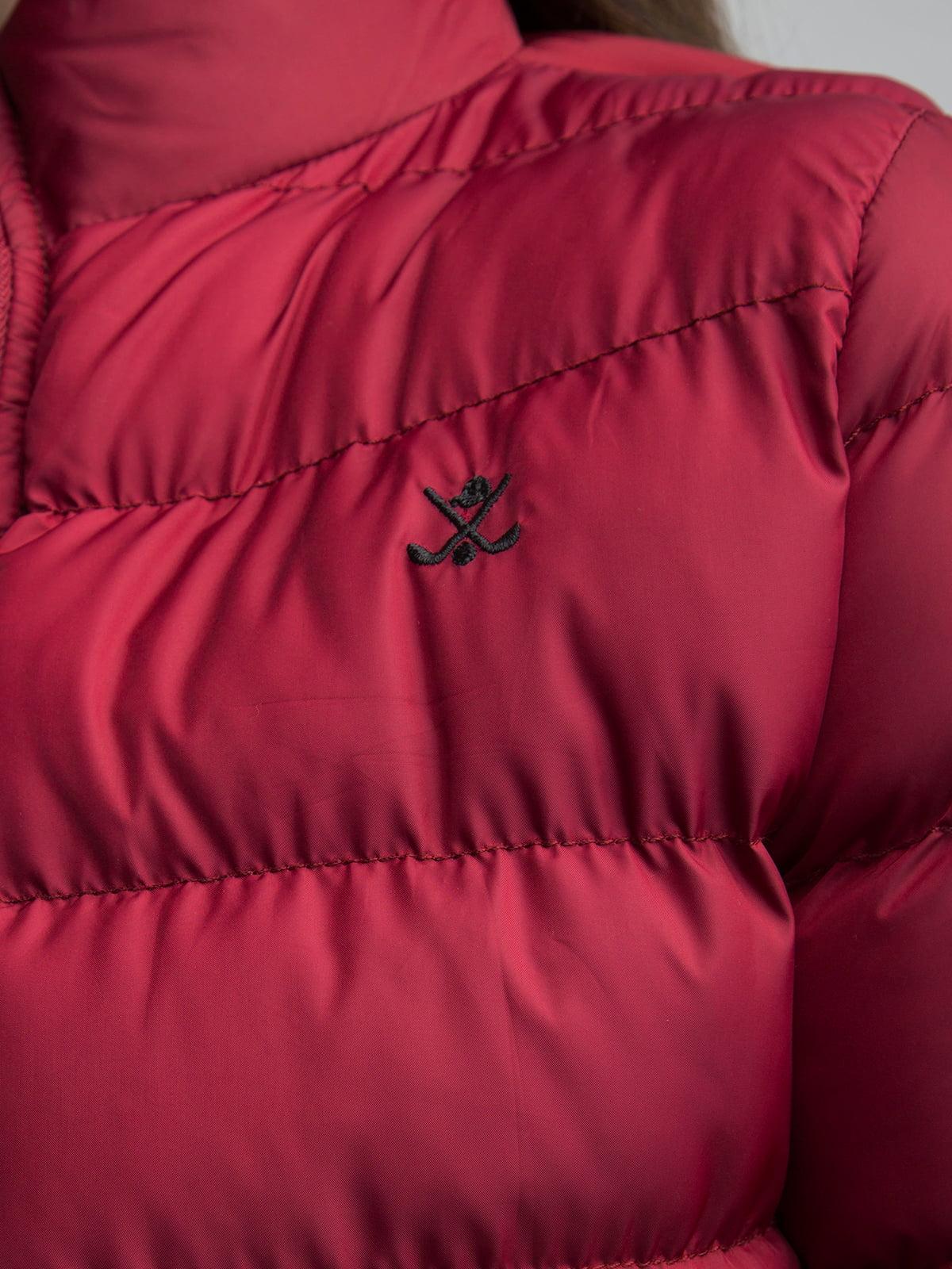 Куртка бордовая | 4488858 | фото 5