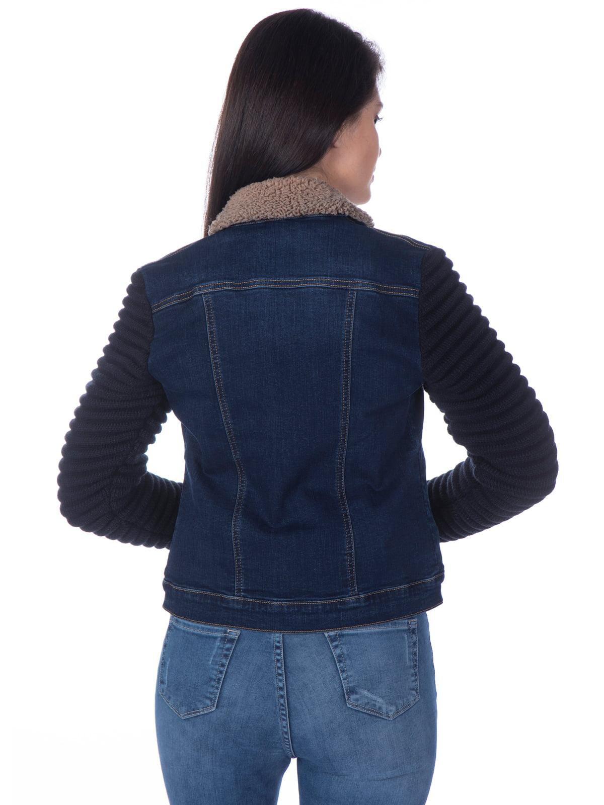 Куртка синяя джинсовая | 4138777 | фото 2