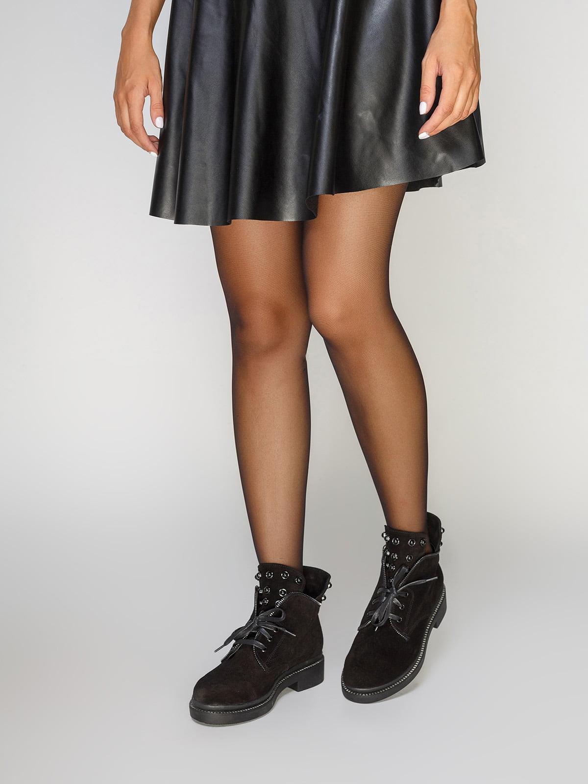 Ботинки черные   4469831   фото 2