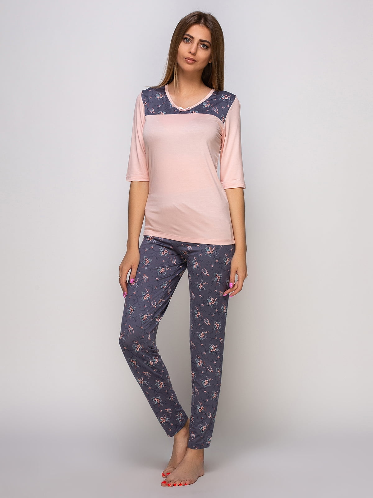Пижама: лонгслив и брюки | 4480301
