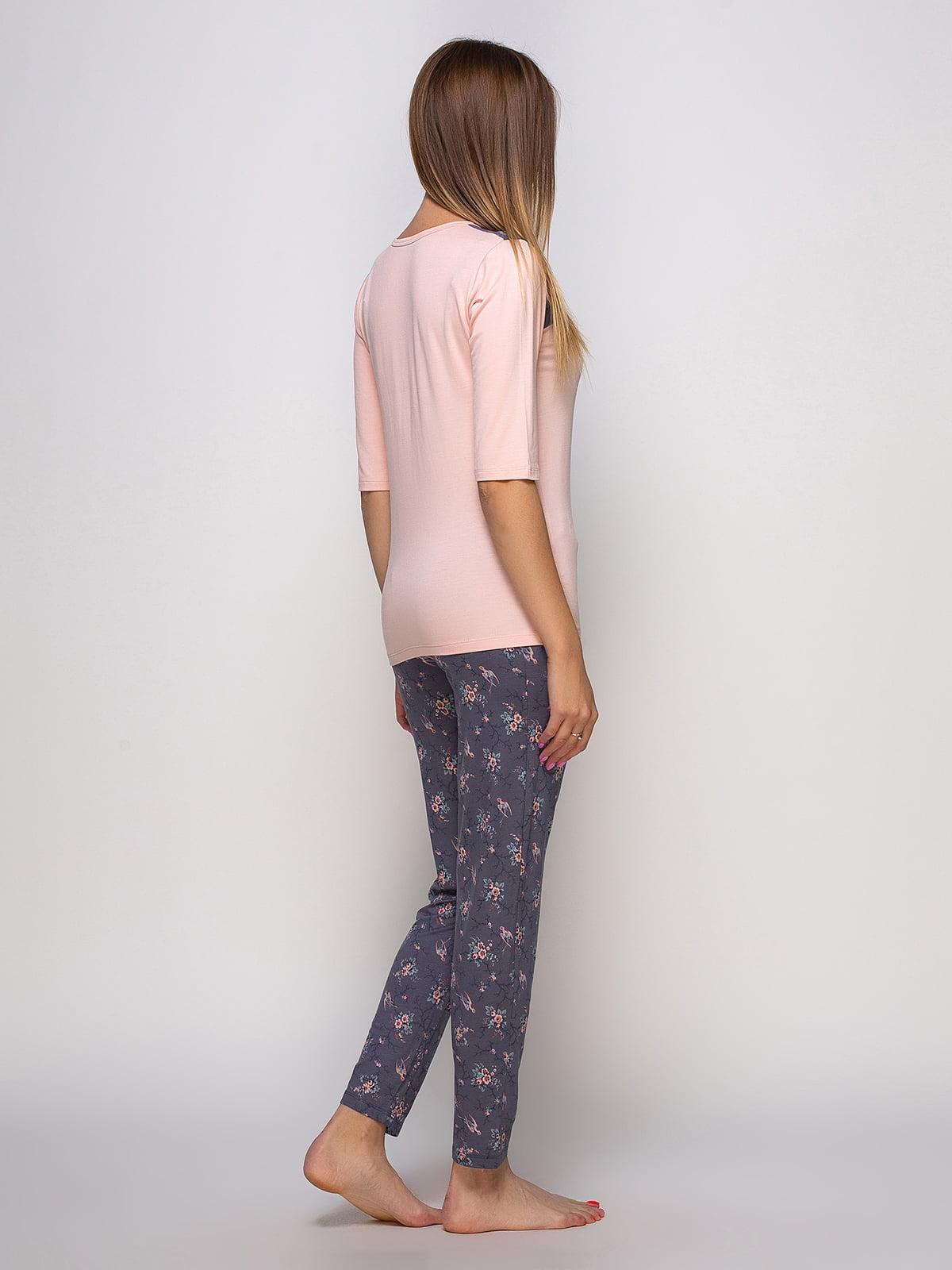 Пижама: лонгслив и брюки | 4480301 | фото 2