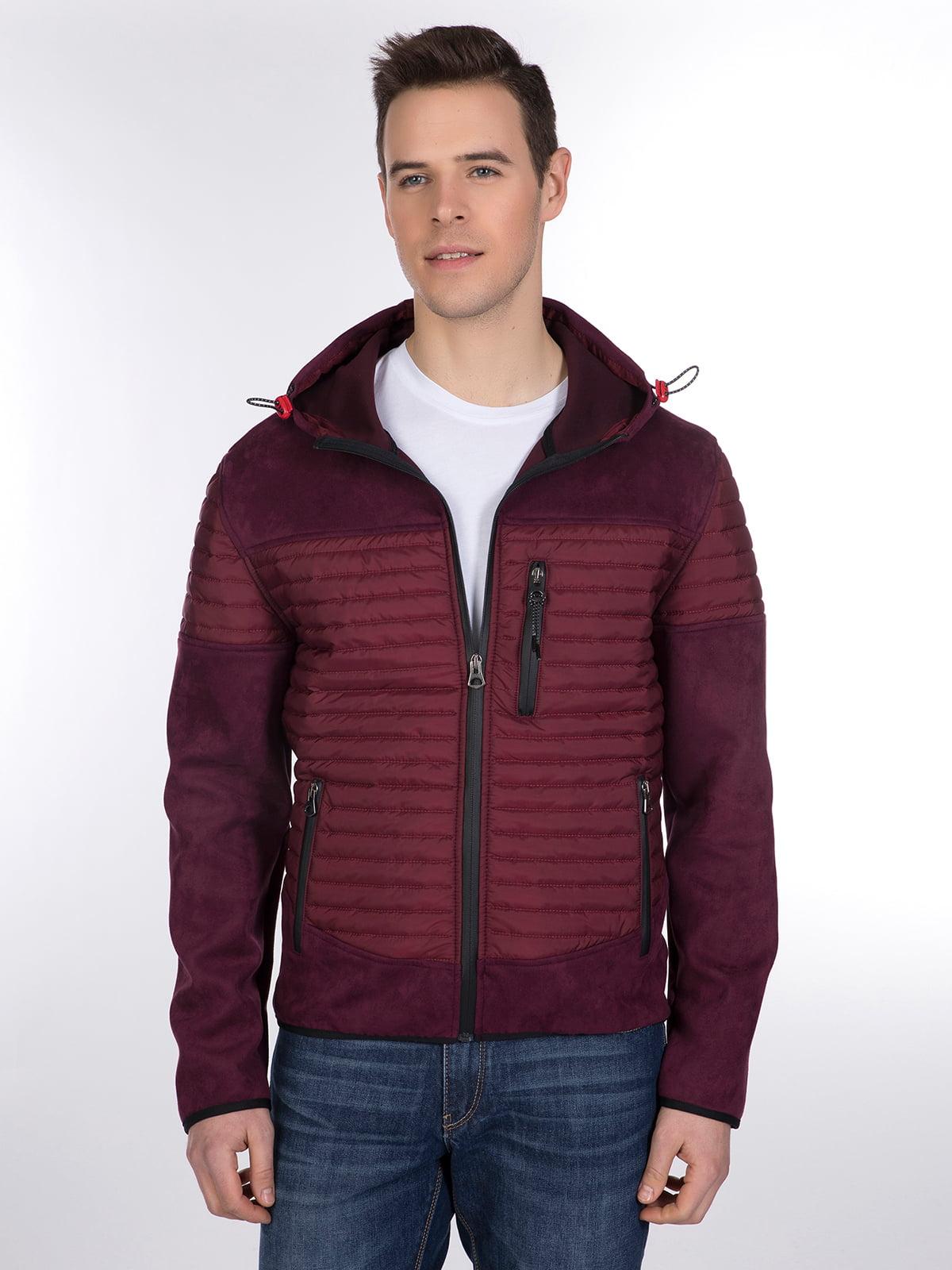 Куртка бордовая | 3989638