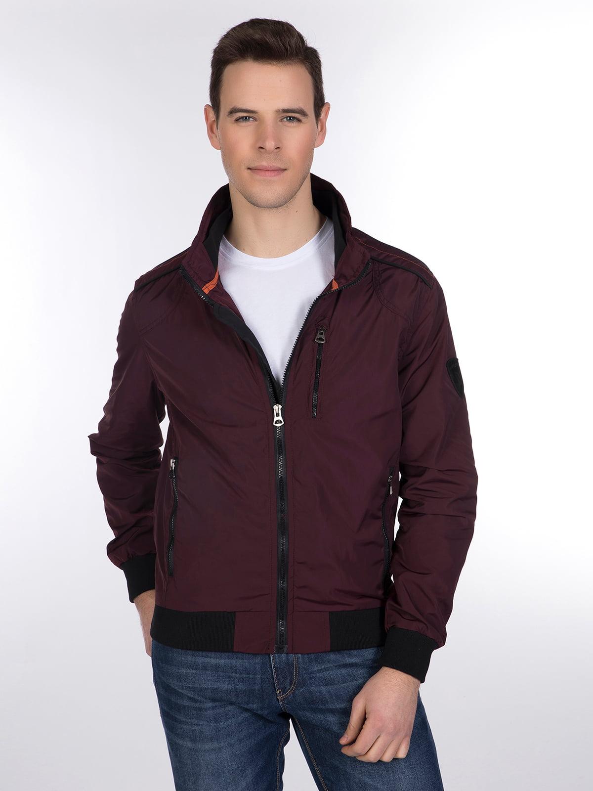Куртка бордовая | 3989649
