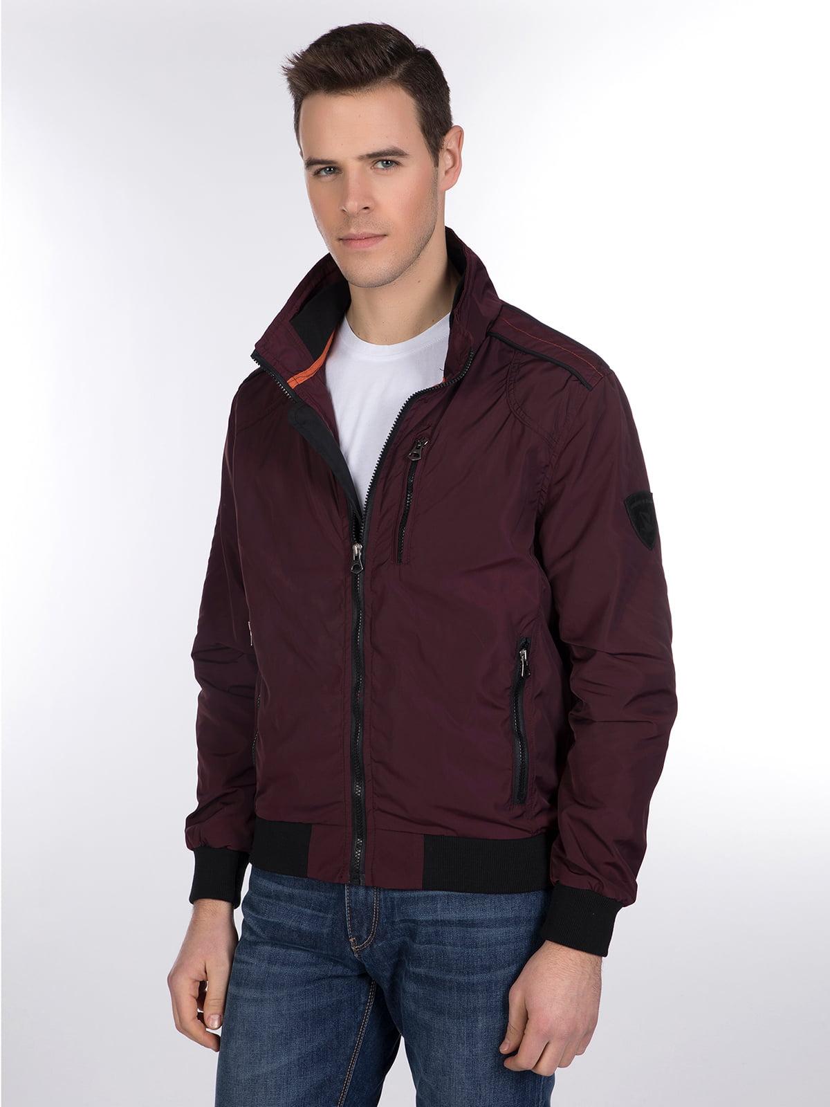 Куртка бордовая | 3989649 | фото 2